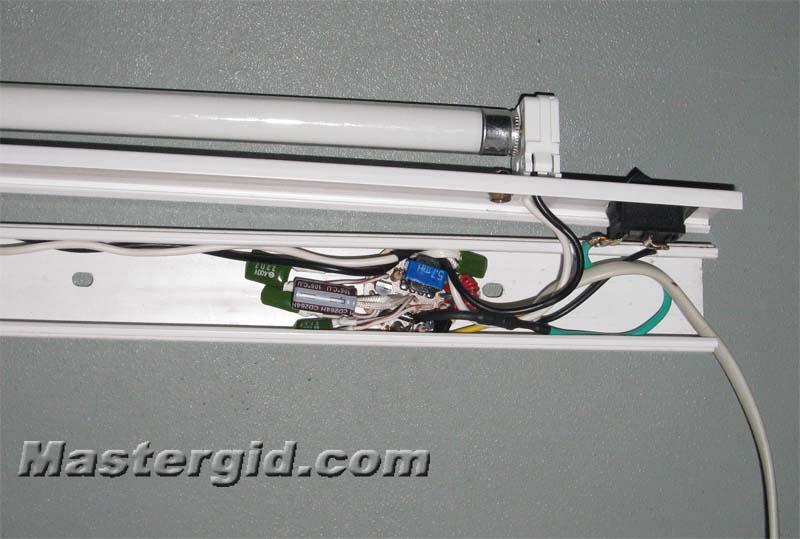 Бесстартерная схема включения ламп дневного света - Сайт радиолюбителей.