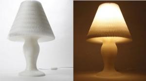 Бумажный светильник