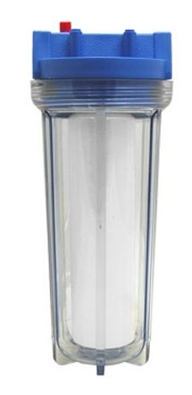 Шпагат из картриджа для воды в качестве подвязки